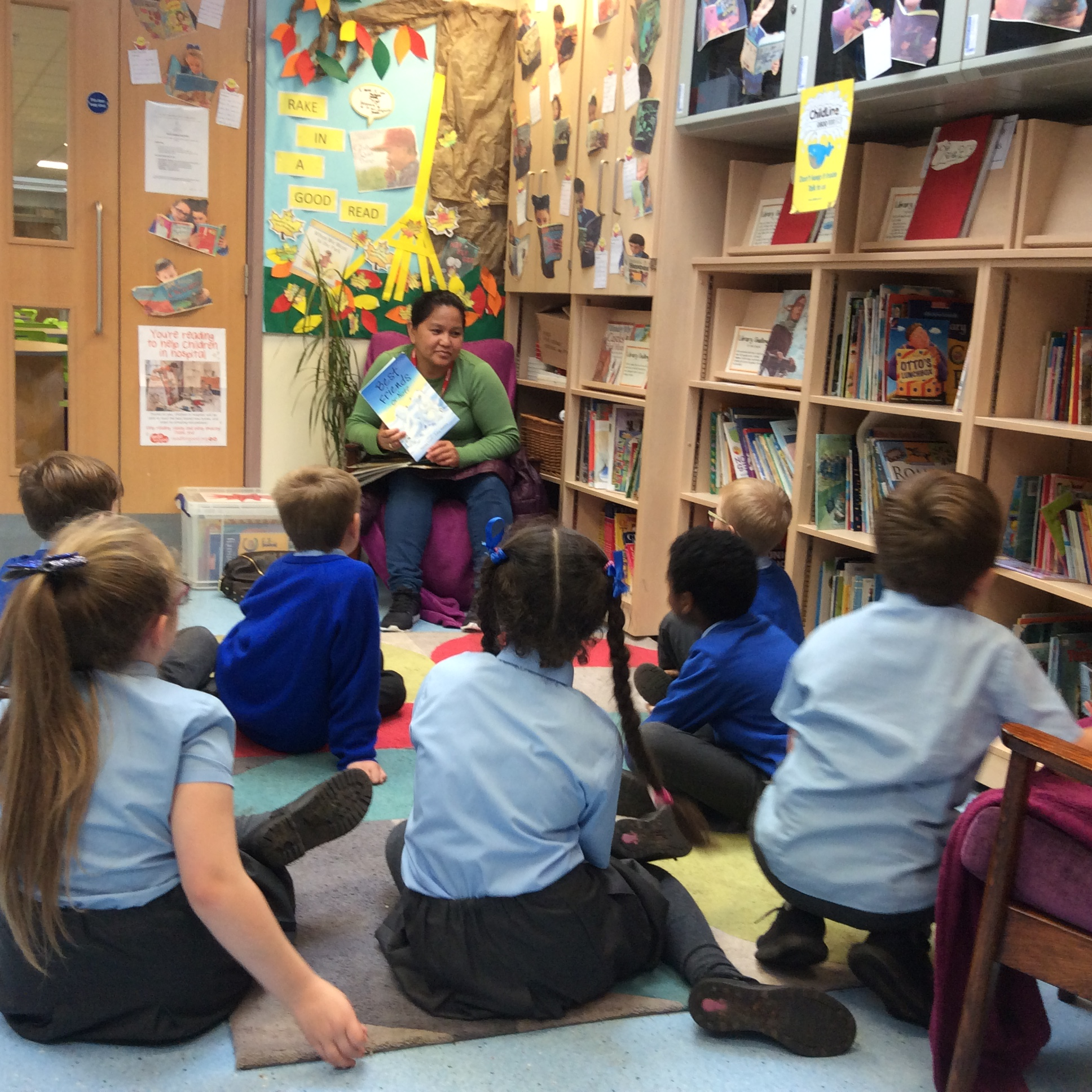 Joining forces for a great cause during Readathon - Our Lady