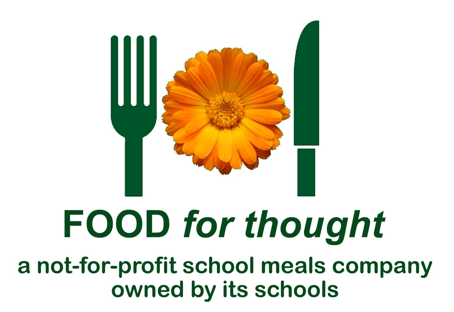 Image result for food for thought merseyside logo